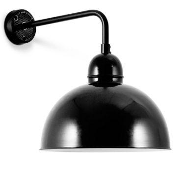 Disse væglamper er i sorte og hvide farver.