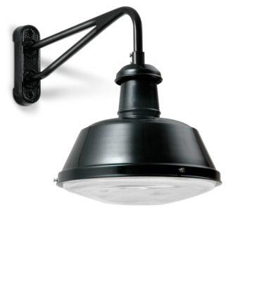 Disse væglamper er i sorte og hvide farver. De er som standard i aluminium